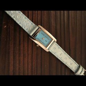Louis Vuitton Vintage Blue Ladies Watch